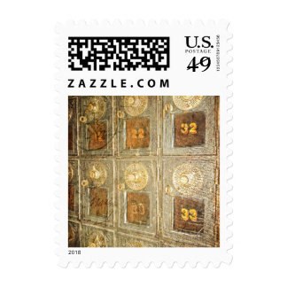 Vintage Post Office Boxes Stamp