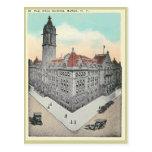 Vintage Post Office Buffalo, New York Post Card