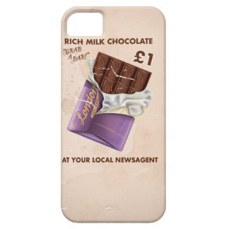 Vintage Post-War Chocolate Advertisement iPhone 5 Covers