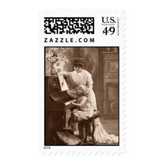 Vintage Postage Music Teacher
