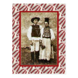 Vintage, postal, casando los pares 1904