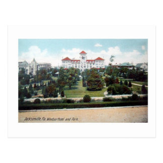 Vintage Postcar de Jacksonville la Florida del hot Postales