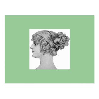 Vintage Postcard ~ 1903 Hair #2