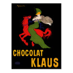 Vintage Postcard: Cappiello - Chocolat Klaus