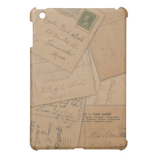 Vintage Postcard Collage iPad Case