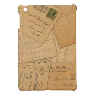 Vintage Postcard Collage iPad Mini Cases