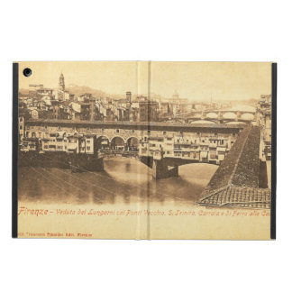 Vintage Postcard, Florence, Italy iPad Air Cover