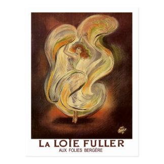 Vintage Postcard Folies Bergere La Loie Fuller