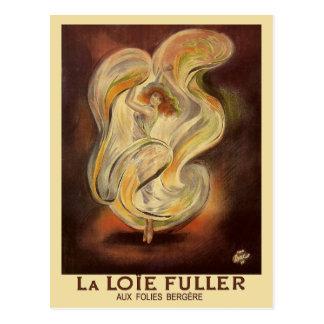 Vintage Postcard: Folies Bergere La Loie Fuller Postcard
