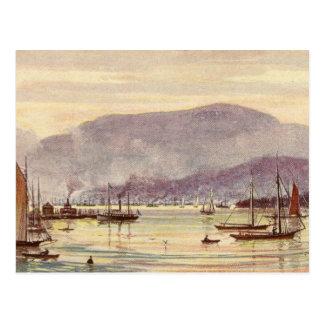 Vintage Postcard Hobart, Tasmania, Australia