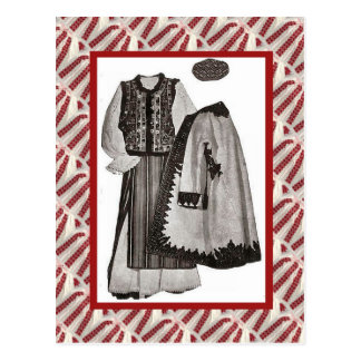 Vintage, postcard, Ladies clothes 1900 Postcard