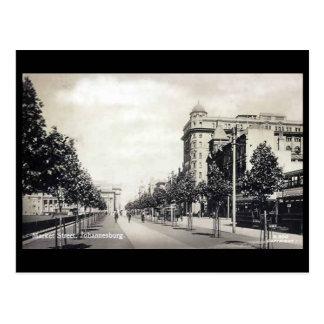 Vintage Postcard - Market Street, Johannesburg