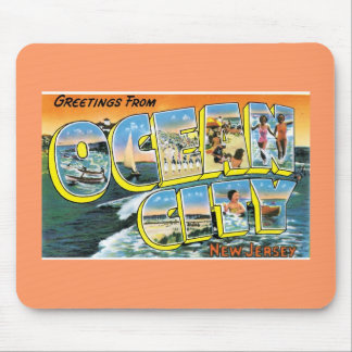 Vintage Postcard Mouse Pad