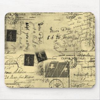 Vintage Postcard Mousepad