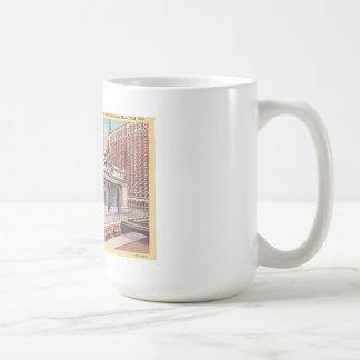 Vintage Postcard NY Train Station Coffee Mug