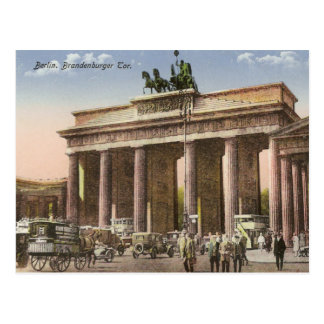 Vintage Postcard of Brandenburger Tor Berlin