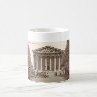 Vintage Postcard of La Madeleine Paris Coffee Mug