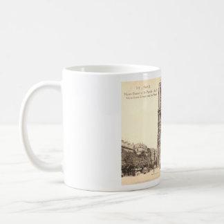 Vintage Postcard of Notre Dame in Paris Coffee Mug