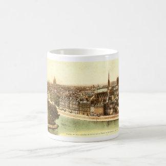 Vintage Postcard of Paris Coffee Mugs