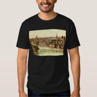 Vintage Postcard of Paris Tee Shirt