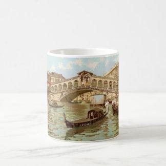Vintage Postcard Ponte de ponte di Rialto, Venezia Coffee Mug