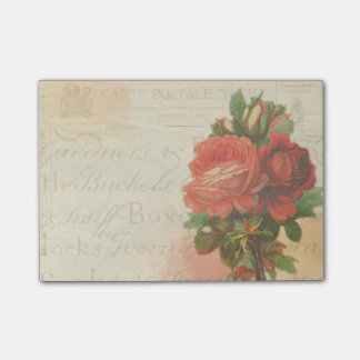 Vintage Postcard Post its Post-it® Notes