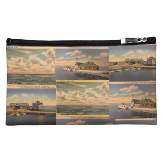"Vintage Postcards ""Kelley's Island"" Cosmetic Bag"