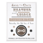 "Vintage Poster 4.25"" X 5.5"" Invitation Card"