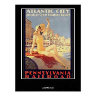 Vintage Poster Atlantic City