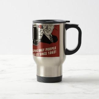 Vintage poster: beer since 1862 travel mug