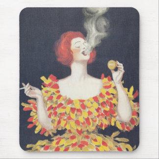 Vintage Poster Cachou Lajaunie Mouse Pad
