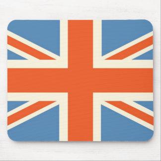 Vintage Poster Classic Union Jack British(UK) Flag Mouse Pad
