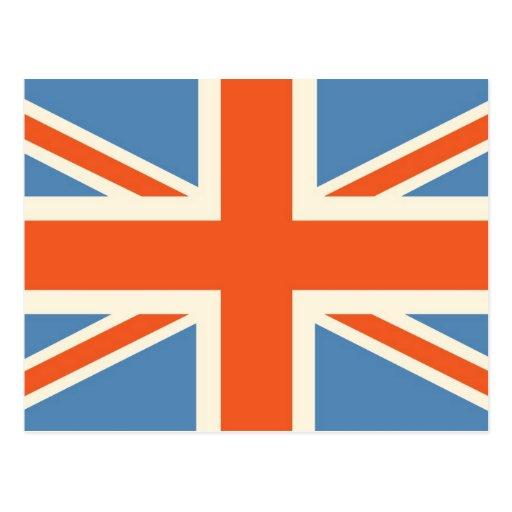 Vintage Poster Classic Union Jack British(UK) Flag Post Card