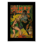 Vintage Poster Comic Book Covers Jumbo Posters