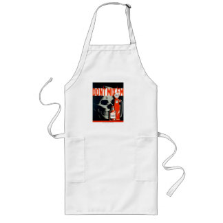 """Vintage poster, """"Don't Mix 'em"""", gas and whiskey Long Apron"""