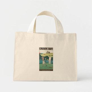 Vintage poster for Cruden Bay Mini Tote Bag