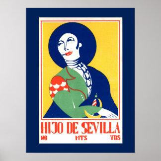 Vintage Poster - Hijo De Sevilla