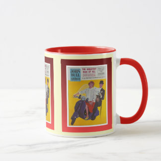 Vintage poster, John Bull illustrated, Mug