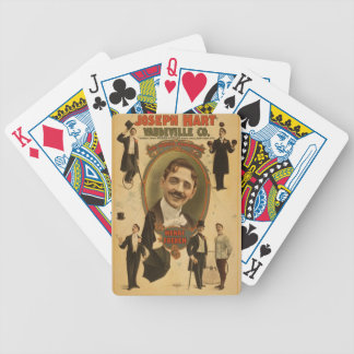 Vintage Poster - Joseph Hart Vaudeville Co - 1899 Bicycle Playing Cards