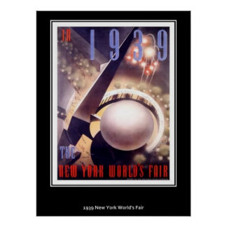Vintage Poster New York World Fair