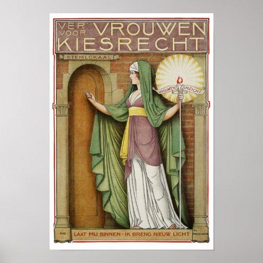 Vintage Poster Print: I Bring New Light