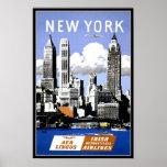 Vintage Poster Print New York Posters