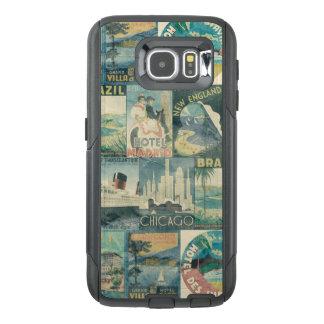 Vintage Poster Travel OtterBox Samsung Galaxy S6 Case