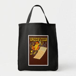 Vintage Poster Vaudeville Illustration Bags