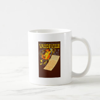 Vintage Poster Vaudeville Illustration Coffee Mug