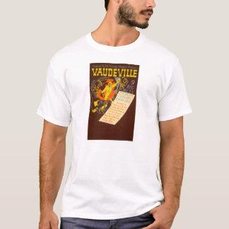 Vintage Poster Vaudeville Illustration T-Shirt