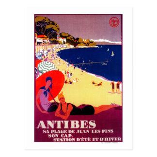 Vintage PosterEurope de Antibes Postal