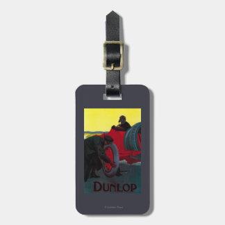 Vintage PosterEurope de Dunlop Etiquetas Bolsa