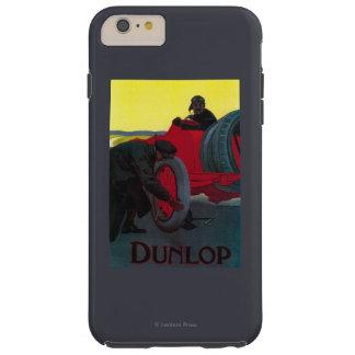 Vintage PosterEurope de Dunlop Funda De iPhone 6 Plus Tough