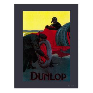 Vintage PosterEurope de Dunlop Postales